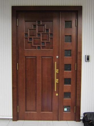 木製建具-玄関