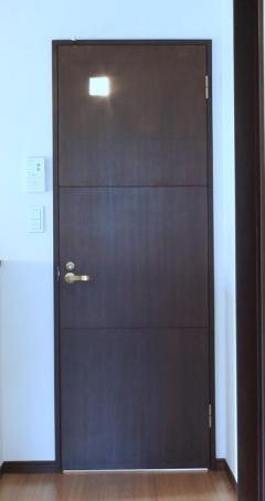 木製建具-2階トイレ扉