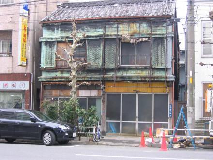 台東3-1 胴板建物①