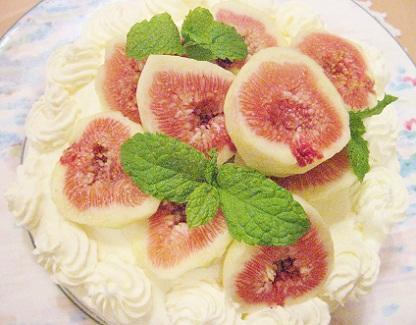 イチジクのケーキです