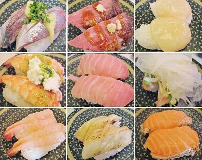 はま寿司さんのお寿司達