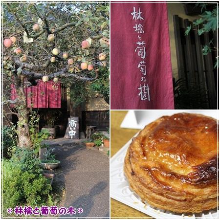 林檎と葡萄の木で、アップルパイは忘れずに(^O^)b