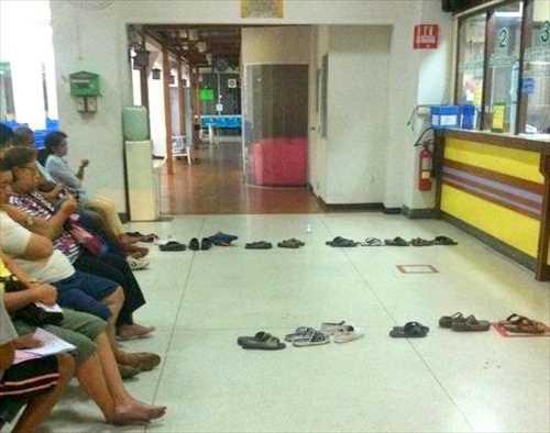 タイの行列