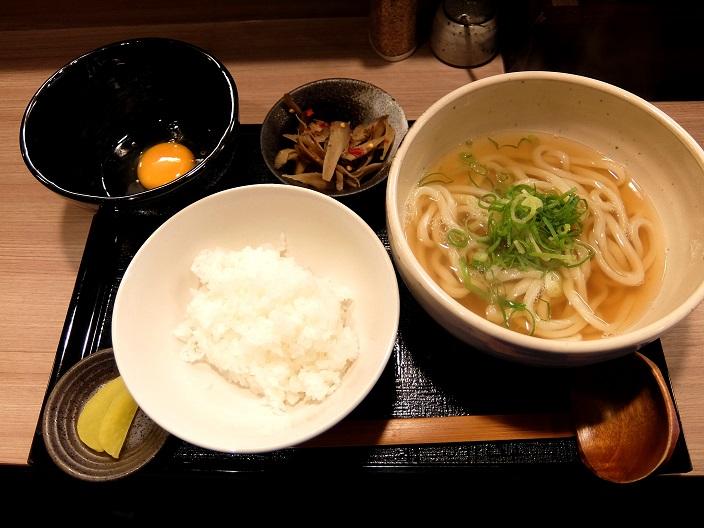 柔製麺朝定食1