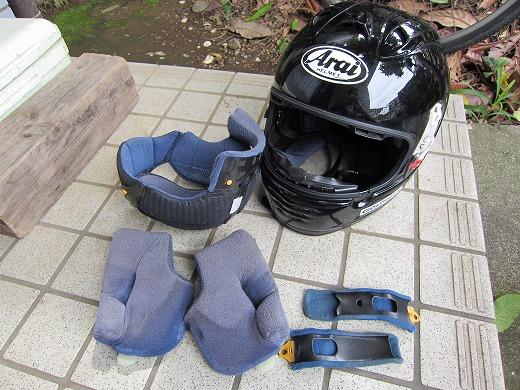 ヘルメット洗濯 10