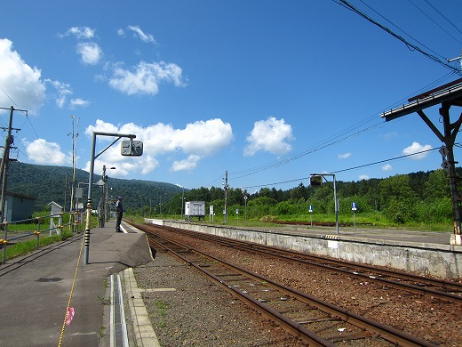 音威子府駅 3