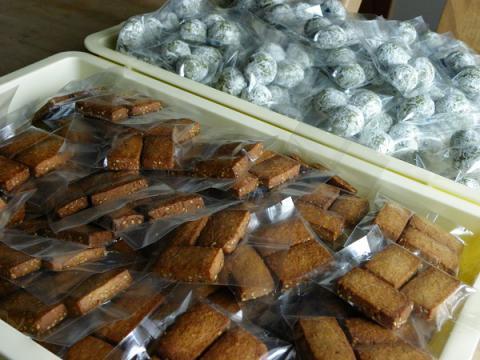 抹茶スノーボール&しょうがはちみつクッキー