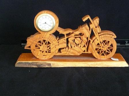 バイクの時計