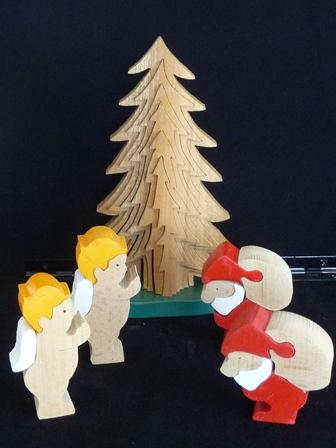 サンタさんとキュウピット