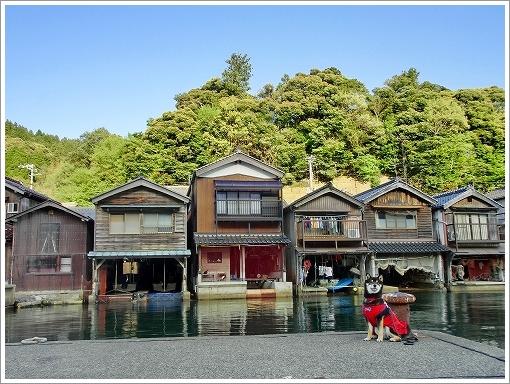 伊根の舟屋 (1)
