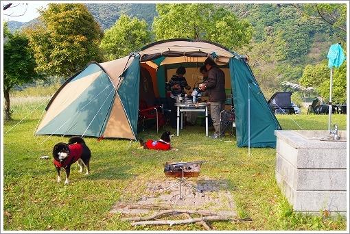 キャンプ2日目 (1)