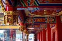 見事な回廊の装飾