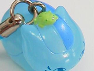 ニャンコ先生風水ストラップ「蛙の妖と」4