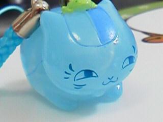 ニャンコ先生風水ストラップ「蛙の妖と」3