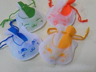 ニャンコ先生風水ストラップ 巾着4種