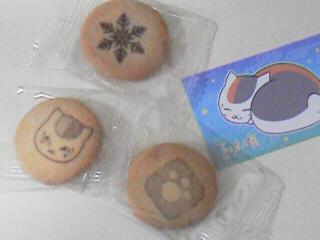 ニャンコ先生箱入りクッキー4