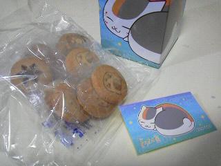 ニャンコ先生箱入りクッキー3