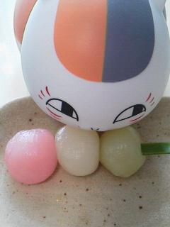 地元和菓子屋の三色団子3