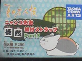 ニャンコ先生徒然ストラップpart3冊子 (1)