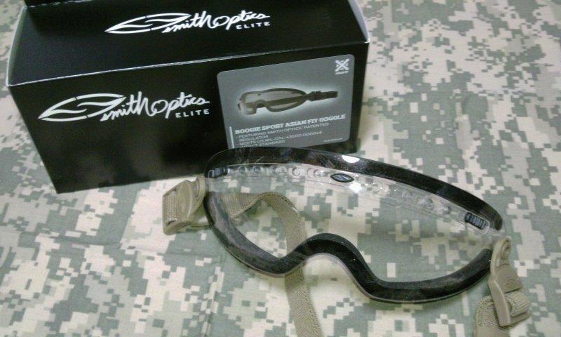 Smith Optics社ブーギースポーツゴーグル1