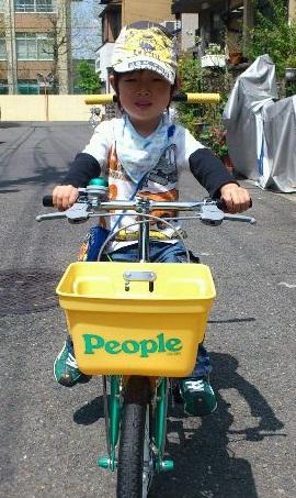 自転車社長。