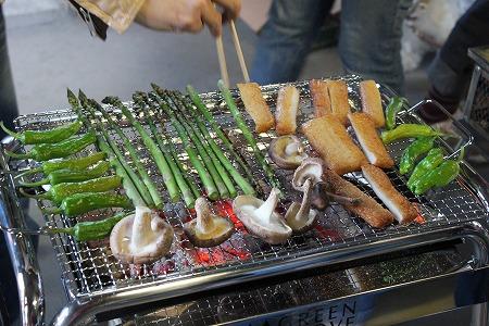 野菜焼き焼き