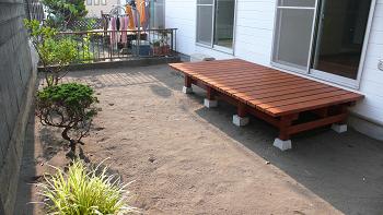 家庭菜園やガーデニングが趣味の方は嬉しい広い専用庭付!ウッドデッキ付!!