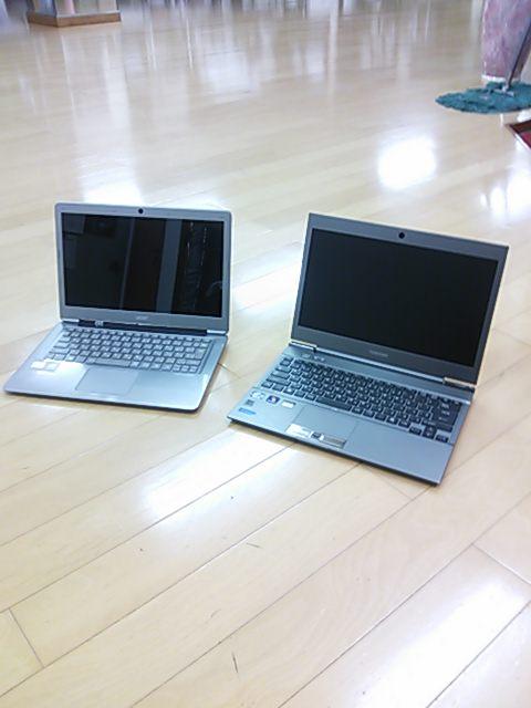 ニューパソコン2台