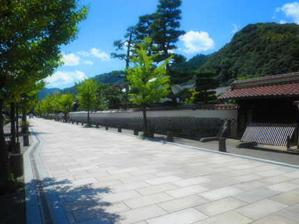 津和野の街並み (7)