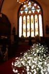 教会「花メインの背景ぼかし」