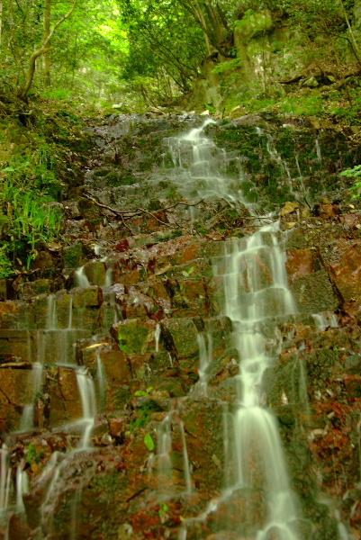 赤滝・・・水量が(-_-)