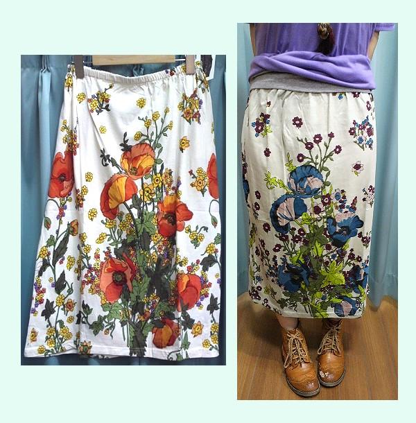 Shanti2(フラワーアレンジメント)スカート