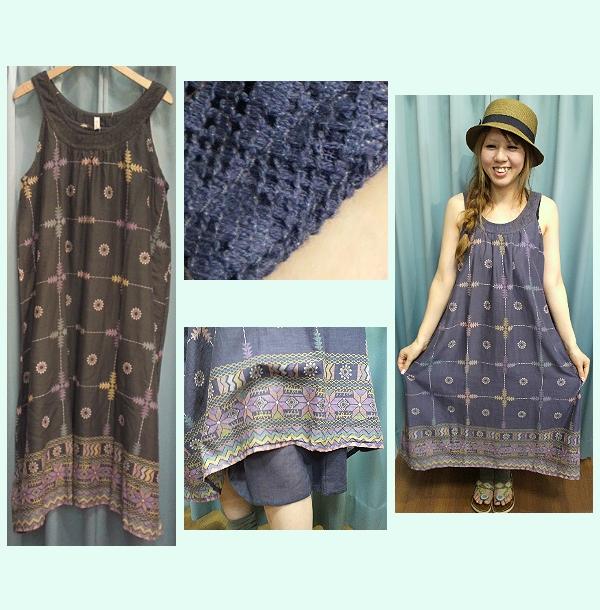 Shanti2(インカ)2208-0142 ドレス