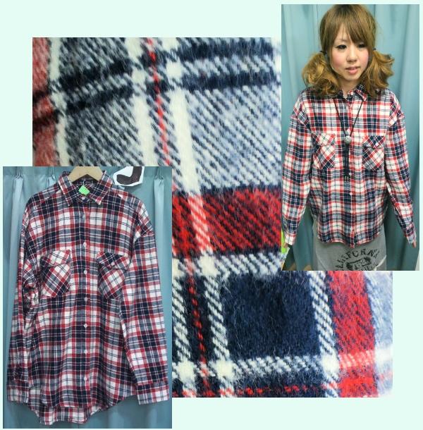 ネルシャツ ¥1,995-