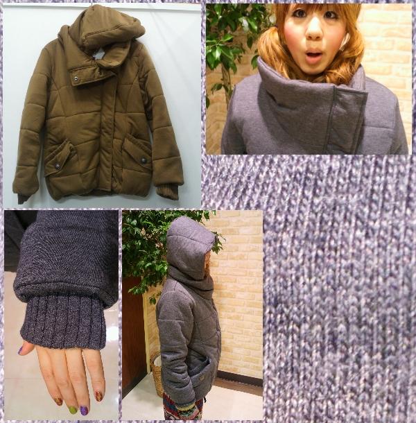 中綿フードJKT ¥6,615-