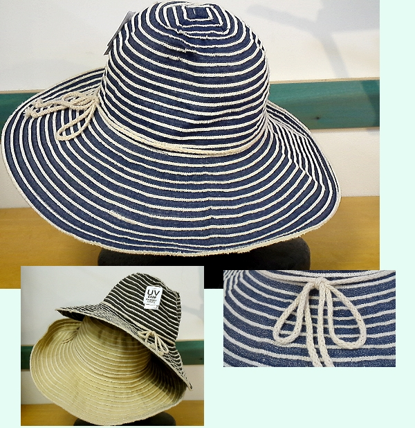 ボーダーブレード 帽子 ¥1995