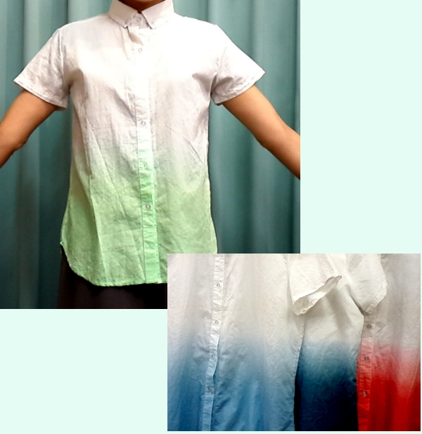 グラデーションシャツ ¥1995