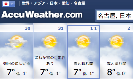 20130101-AccuWeather-Nagoya.png