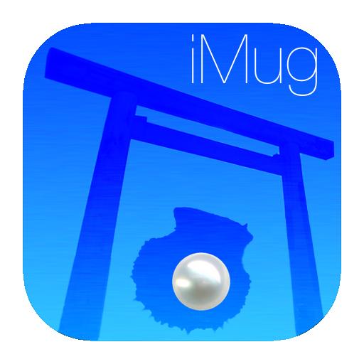 iMug-iOS7アイコン-パール-iOS7フォント