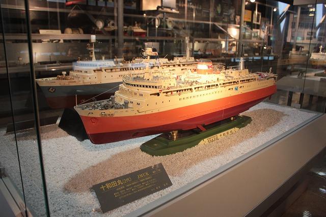④青函連絡船模型