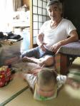 play with granpa