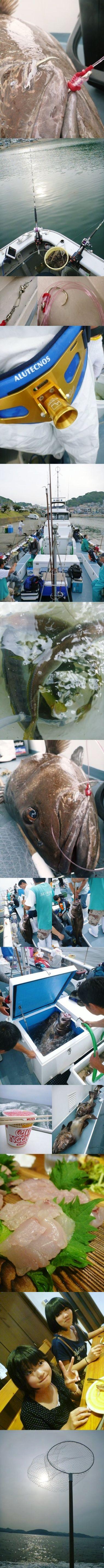 洋征丸でイシナギ釣り