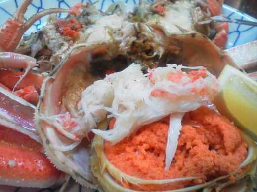 セイコ蟹アップ
