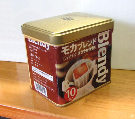 ドリップコーヒー缶