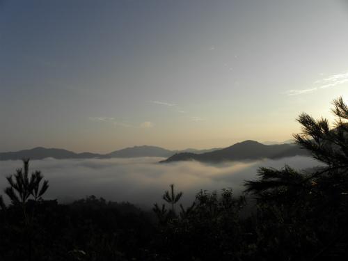 雲海 郷路岳