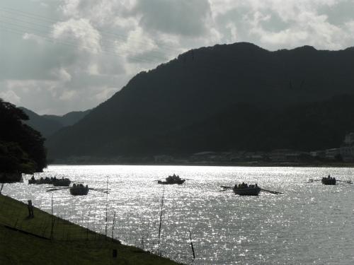 円山川公苑 ボート
