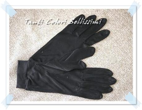 シルクの手袋