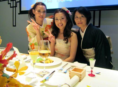 クミコ、綾子、母