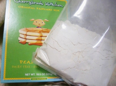 小麦粉パンケーキ