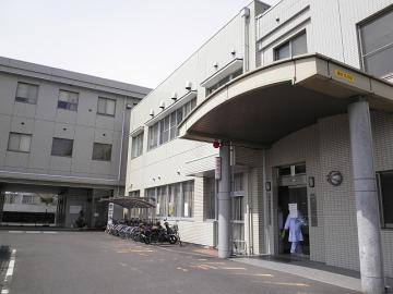 市民病院 駐輪場